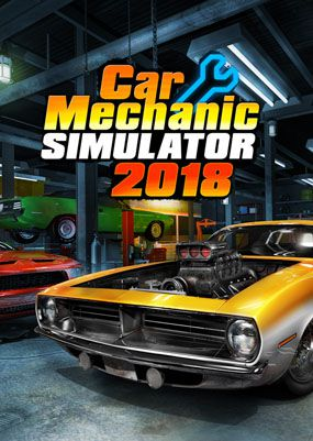 Постер Car Mechanic Simulator 2018
