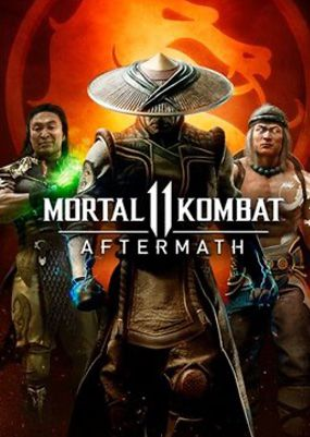 логотип игры Mortal Kombat 11: Aftermath